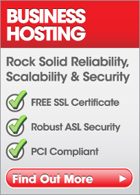 Business Hosting - Rock Solid Scalability & Security