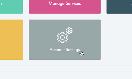 Choose 'Account Settings'