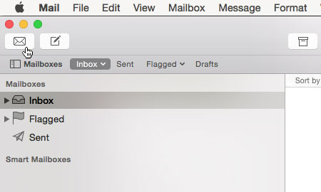 Mac Mail Setup Is Complete