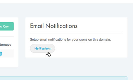 Choose 'Email Notification'