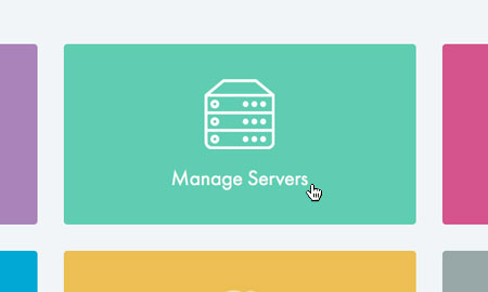 Choose 'Manage Servers'