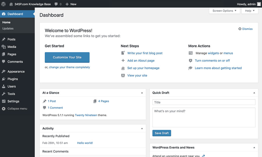Welcome to WordPress!