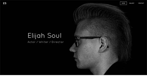 Website Builder template 'Elijah Soul'