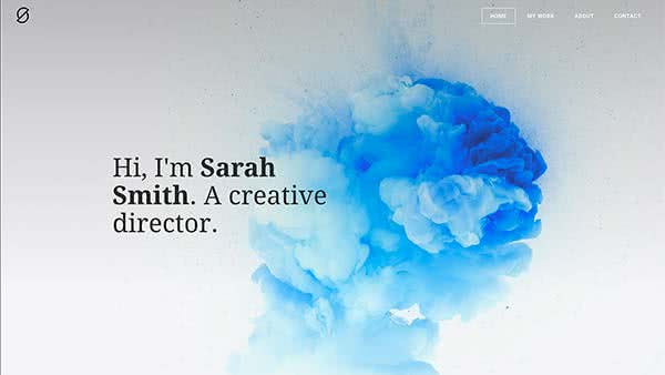 Website Builder template 'Sarah Smith'