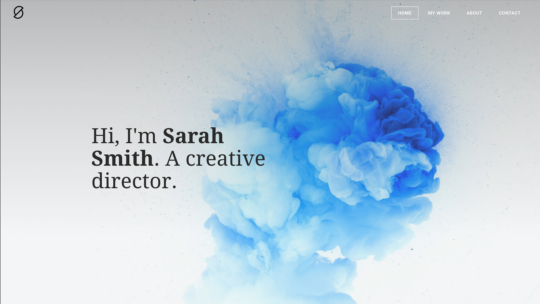 Weebly Theme 'Sarah Smith'